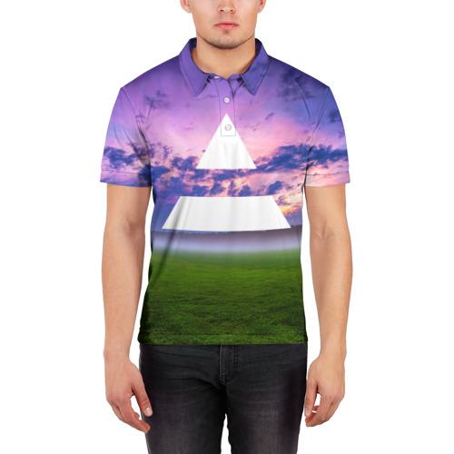 Мужская рубашка поло 3D  Фото 03, Triada