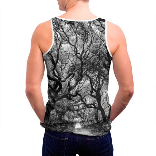 Мужская майка 3D  Фото 04, Деревья
