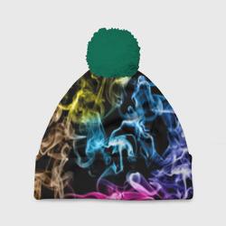 Красочный дым