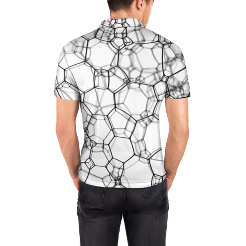 Мужская рубашка поло 3D  Фото 04, Пузыри