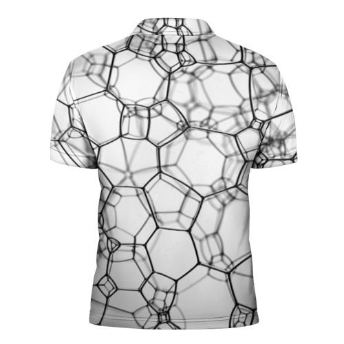 Мужская рубашка поло 3D  Фото 02, Пузыри