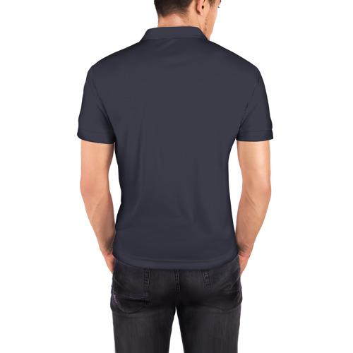 Мужская рубашка поло 3D  Фото 04, Радужный спорт