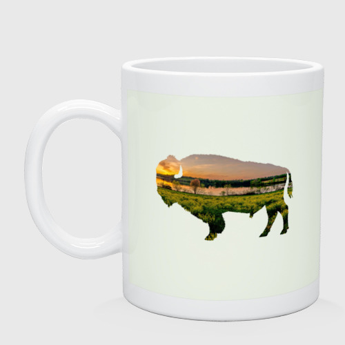 бизон закат