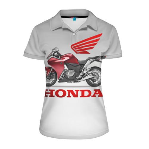 Женская рубашка поло 3D Honda 2