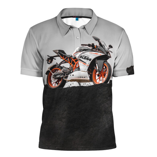 Мужская рубашка поло 3D  Фото 01, KTM 5
