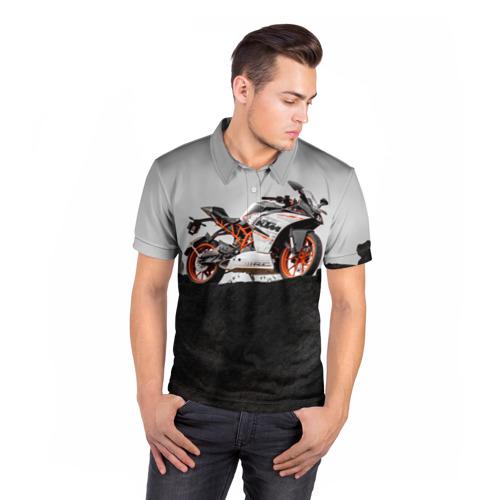 Мужская рубашка поло 3D  Фото 05, KTM 5