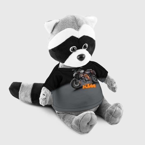 Игрушка Енотик в футболке 3D KTM 4 Фото 01