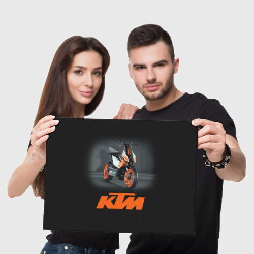 Холст прямоугольный  Фото 05, KTM 2