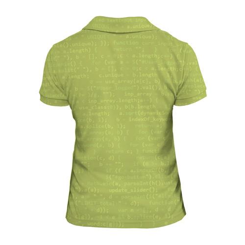 Женская рубашка поло 3D  Фото 02, Учителю информатики