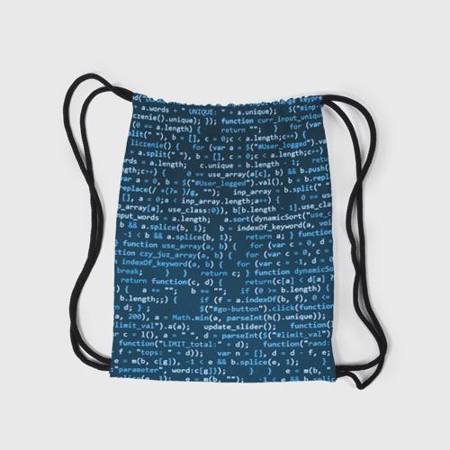 Рюкзак-мешок 3D  Фото 05, Учителю информатики