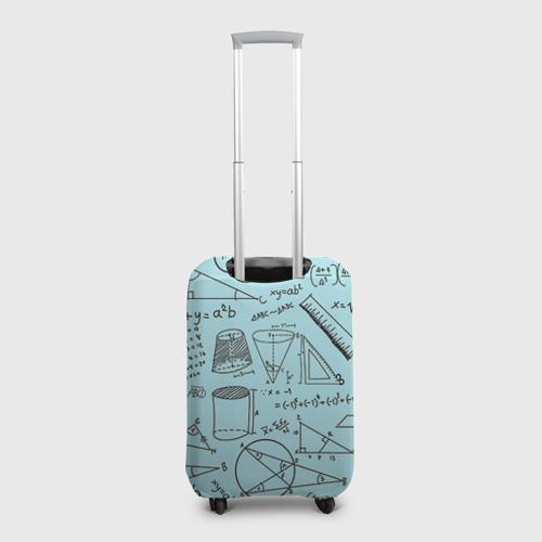Чехол для чемодана 3D  Фото 02, Учителю математики
