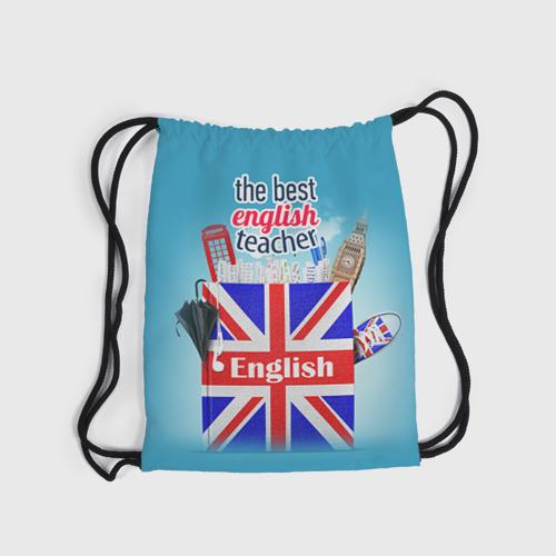 Рюкзак-мешок 3D  Фото 04, Учителю Английского языка