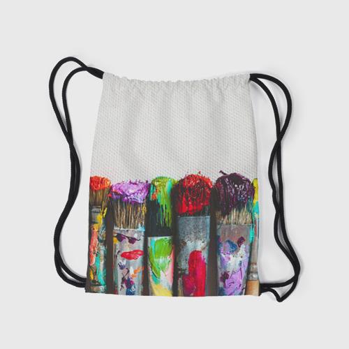 Рюкзак-мешок 3D  Фото 05, Учителю рисования