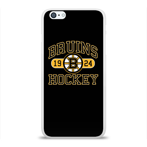 Чехол для Apple iPhone 6Plus/6SPlus силиконовый глянцевый  Фото 01, Boston Bruins