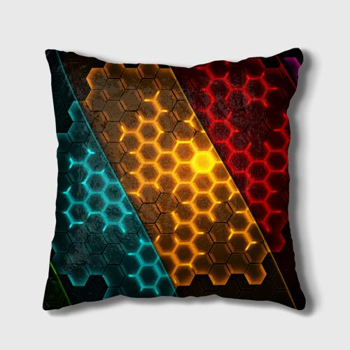 Подушка 3D  Фото 01, Соты TRON