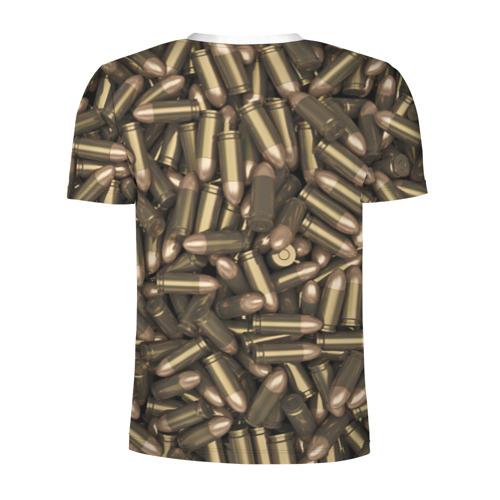 Мужская футболка 3D спортивная  Фото 02, Боеприпасы