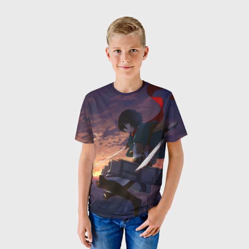 Детская футболка 3D  Фото 01, Swords