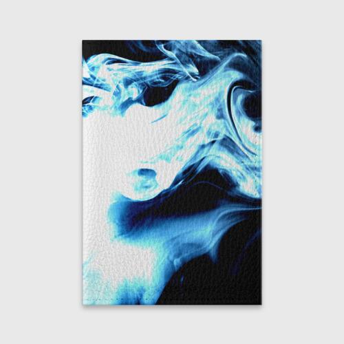Обложка для паспорта матовая кожа  Фото 01, Дым