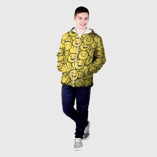 Мужская куртка 3D  Фото 03, ПеКа-фейс
