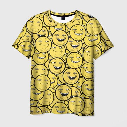 Мужская футболка 3D ПеКа-фейс