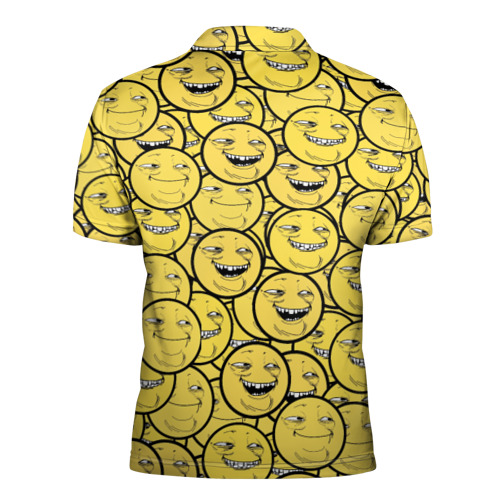 Мужская рубашка поло 3D  Фото 02, ПеКа-фейс