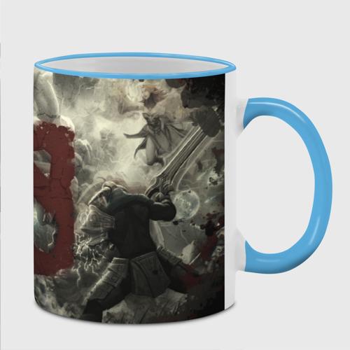 Кружка с полной запечаткой Bane VS Sven