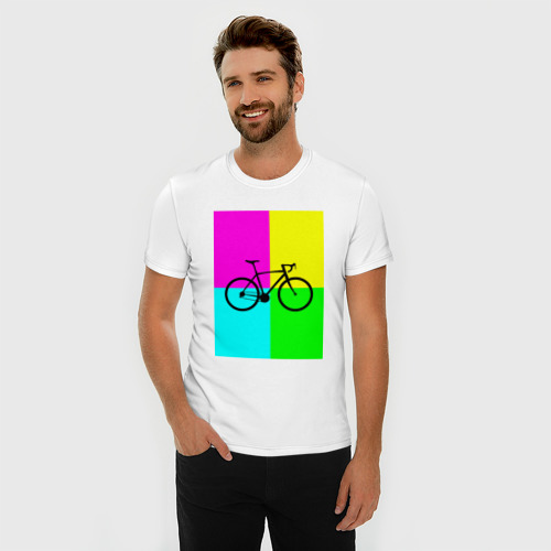 Мужская футболка премиум  Фото 03, Велосипед фикс