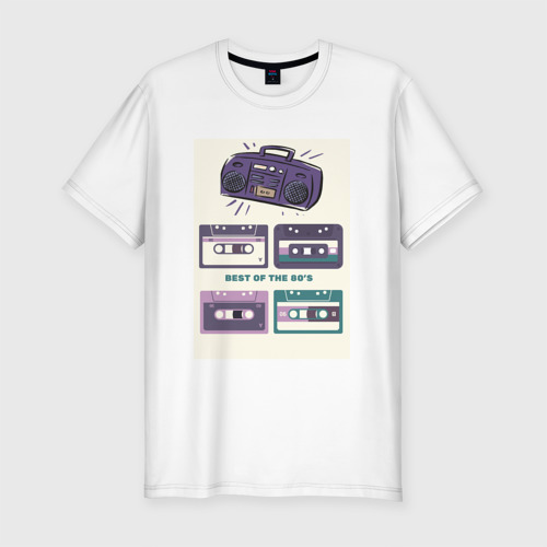 Мужская футболка премиум  Фото 01, 80 best music