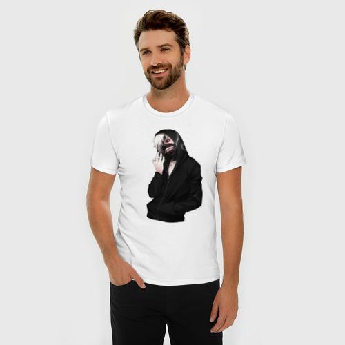 Мужская футболка премиум  Фото 03, Канеки Кен