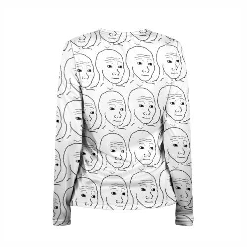 Женский лонгслив 3D для беременных  Фото 02, I Know That Feel Bro
