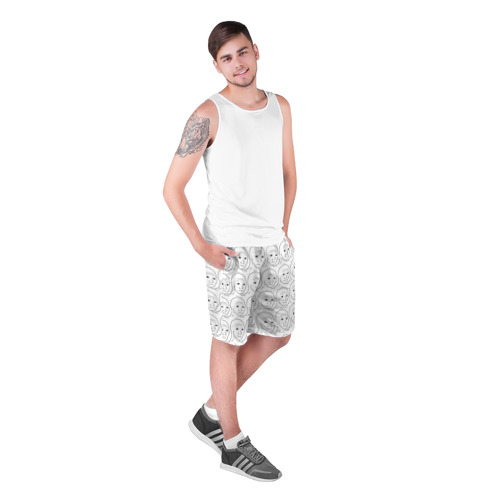 Мужские шорты 3D  Фото 03, I Know That Feel Bro