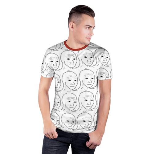 Мужская футболка 3D спортивная I Know That Feel Bro Фото 01