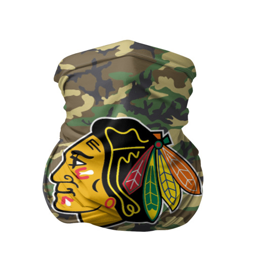 Бандана-труба 3D Blackhawks Camouflage