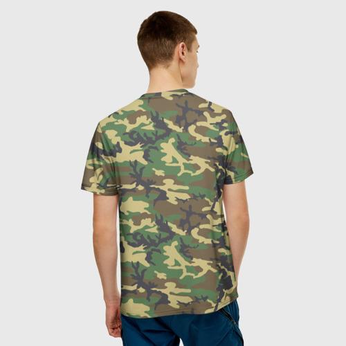 Мужская футболка 3D  Фото 02, Bruins Camouflage