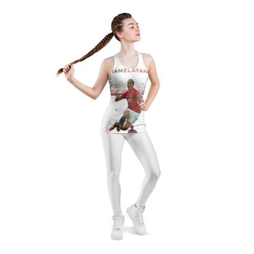 Женская майка 3D спортивная  Фото 05, IAmZlatan