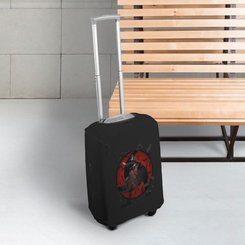 Чехол для чемодана 3D Itachi (Mangekyou Sharingan) Фото 01