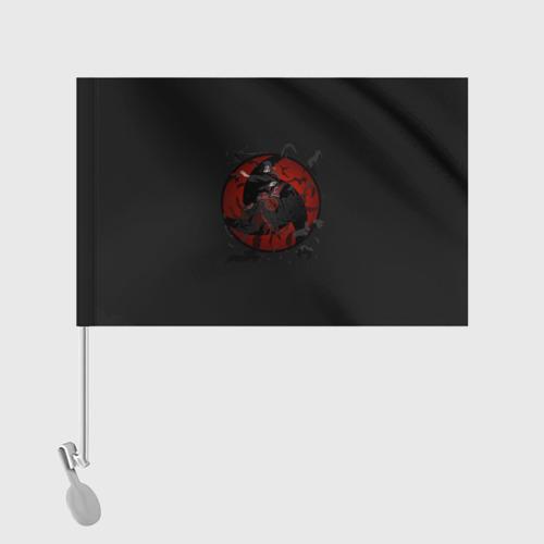Флаг для автомобиля Itachi (Mangekyou Sharingan) Фото 01