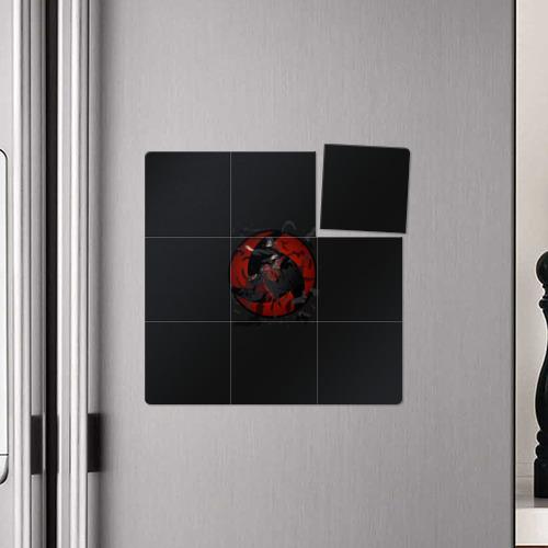 Магнитный плакат 3Х3 Itachi (Mangekyou Sharingan) Фото 01
