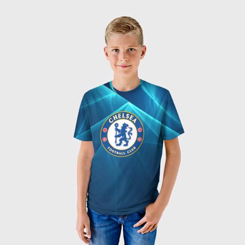 Детская футболка 3D  Фото 01, Chelsea