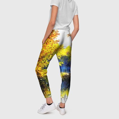 Женские брюки 3D Пейзаж