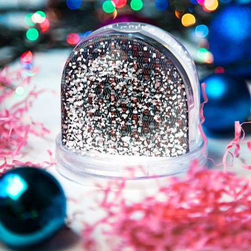Водяной шар со снегом  Фото 04, TwentyONE PILOTS pattern