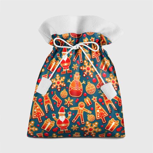Подарочный 3D мешок Рождество