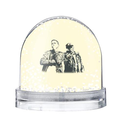 Водяной шар со снегом  Фото 01, Эминем и 50 центов