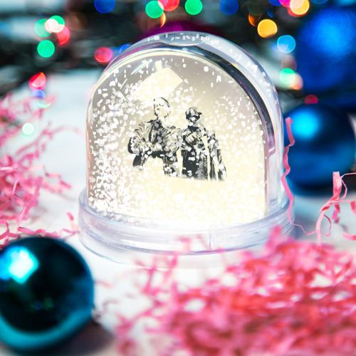 Водяной шар со снегом  Фото 04, Эминем и 50 центов