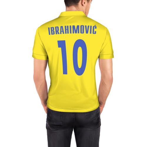 Мужская рубашка поло 3D  Фото 04, Ибрагимович