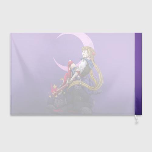 Флаг 3D Сейлор Мун Фото 01
