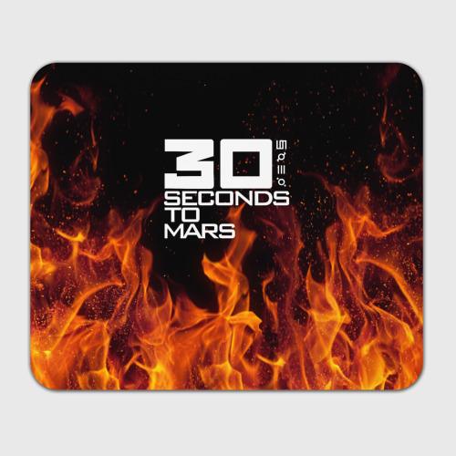 Коврик для мышки прямоугольный  Фото 01, 30 seconds to mars fire