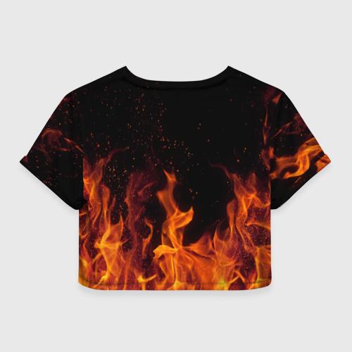 Женская футболка Cropp-top  Фото 02, 30 seconds to mars fire