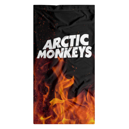 Бандана-труба 3D Arctic Monkeys fire Фото 01