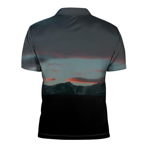 Мужская рубашка поло 3D  Фото 02, Sad frog